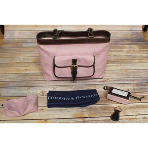 DOONEY & BOURKE Pink East West Shoulder Bag NEW